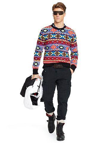 ralph lauren christmas jumper