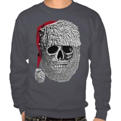 skull christmas jumper